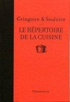 répertoire de la cuisine Gringoire et Saulnier 144 x 209